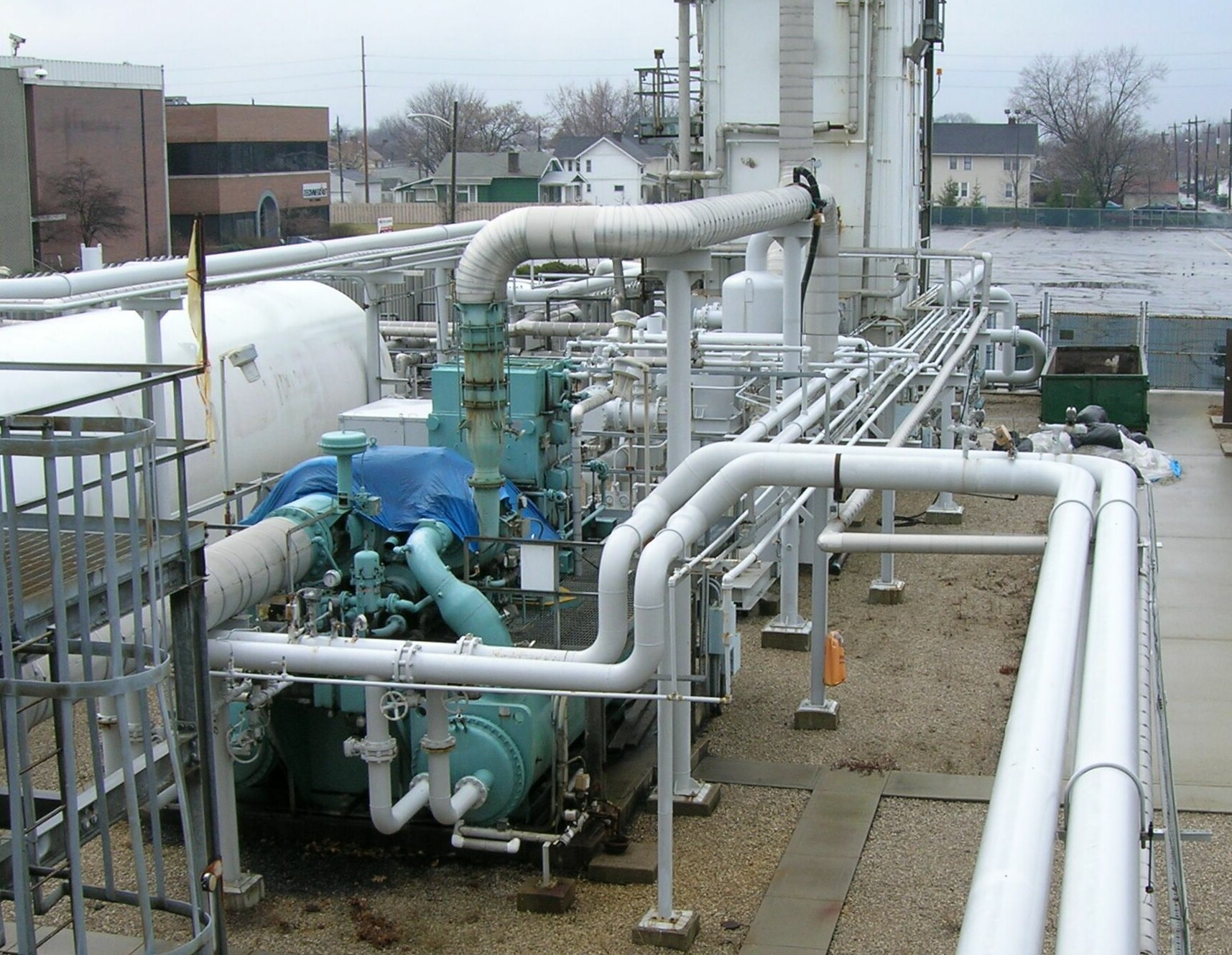 Used Cryogenic Oxygen and Nitrogen Production Plant