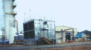 Relocated and upgraded used gaseous oxygen and merchant liquid plant at new site in South Central US