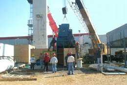 UIG dismantling a100 tpd Oxygen plant in Mexico in preparation for relocation (with upgrades) to Saudi Arabia