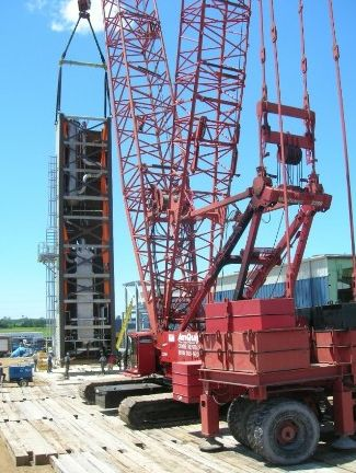 First ASU module being moved to foundation